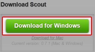 Scoutのダウンロード