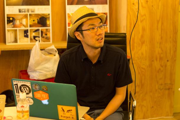 「WordCamp  Tokyo 2013」実行委員長 大串さん