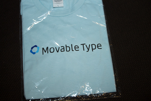 Movable Type Tシャツ
