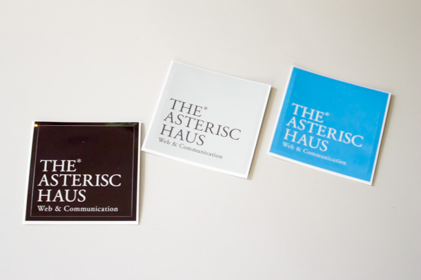 THE ASTERISC HAUSステッカー
