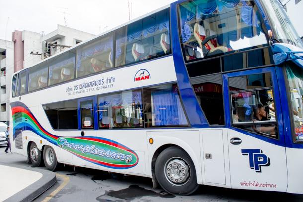 お世話になった送迎バス